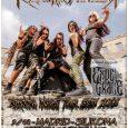 """Las suecas Frantic Amber estarán presentando al público madrileño su álbum de debut """"Burning Inside"""". Frantic Amber es una banda de Death Metal sueca, formada fundamentalmente por chicas de diferentes […]"""