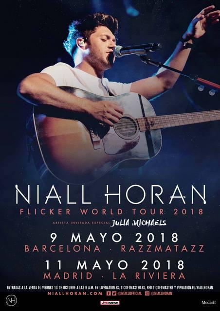 Niall Horan - Spain - Artwork