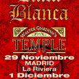 RATA BLANCA + WALTER GIARDINO'S TEMPLE + MIÉRCOLES –29/11/2017 19:00 LA RIVIERA MADRID + VIERNES –01/12/2017 19:00 SALA RAZZMATAZZ 2 BARCELONA Walter Giardino, el consagrado guitarrista argentino presenta su proyecto […]