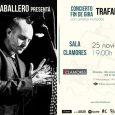 Rafa Caballero culmina en la madrileña sala Clamores su exitosa gira Trafalgar El cantante jerezano afincado en Madrid hará un repaso de su primer trabajo en solitario y acercará al […]