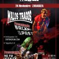 """MALOS TRAGOS + LAS SEXPEARES en Zaragoza Malos Tragos están en plena presentación de su nuevo disco """"Back to the Past"""", un disco de versiones de los '80, un disco […]"""