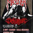 """MASTER + DEHUMAN + GLOOM Madrid Sala Silikona 08/11/17 Bajo el nombre """"Omens Of Death Tour"""" nos encontramos con una de las citas más interesantes para el fan del Death […]"""