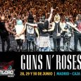"¡GUNS N' ROSES, CABEZA DE CARTEL DE DOWNLOAD FESTIVAL MADRID 2018! 28, 29 y 30 JUNIO 2018 CAJA MÁGICA MADRID La gran banda norteamericana GUNS N' ROSES hará parada en el festival DOWNLOAD MADRID dentro de la esperada segunda parte de su gira ""NOT IN […]"