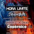 Duendelirium + Hora Limite y Sigulka en Madrid este 27 de enero en Copérnico Tres pedazo de grupos para un concierto inolvidable. La mejor forma de olvidar la cuesta de […]