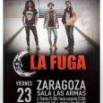 LA FUGA Presenta el viernes 23de febrero en la sala Las Armas de Zaragozasu nuevo trabajo 'Edición Especial: Humo y Cristales + Mientras Brille La Luna' La Fuga vuelve a […]