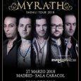 La banda de rock metal MYRATH actuará en Madrid y Barcelona el próximo mes de marzo 27 de marzo Sala Caracol MADRID 28 de marzo SalaBóveda BARCELONA MYRATHestán emocionados por […]