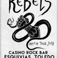 """The Rebels continúan de gira con """"Mafia Tour"""" presentando las canciones de su nuevo disco. Después de recorrer gran parte de la península y abarrotar salas como Moby Dick en […]"""