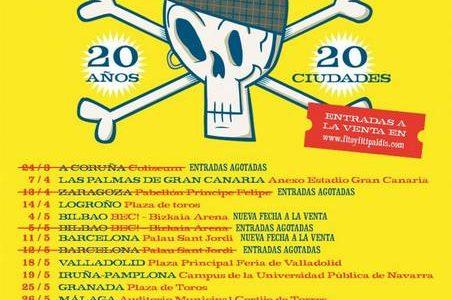 FITO&FITIPALDIS SEGUNDA FECHA EN BARCELONA ¡ENTRADAS YA A LA VENTA PARA EL 11 DE MAYO EN BARCELONA! Más info en: www.fitoyfitipaldis.com www.riffmusic.es