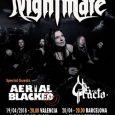 Nightmare en Valencia y Barcelona esta semana Nightmare puede considerarse una de las bandas pioneras del Heavy Metal en Francia. Unna banda que lleva trabajando desde 1979 y que esta […]