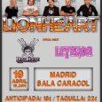 Lionheart en Madrid el 19 deabril Lionheart se presentan en Madrid el 19 de abril Leyenda y Doss House las bandas invitadas El próximo jueves 19 de abril los británicosLionheartactuarán […]