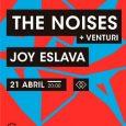 THE NOISES Presentación 'Sesion' Joy Eslava (Madrid) 21.4.18 20h. Entradas en Wegow http://bit.ly/2sI196Q (ESCENARIOS ESLAVA) #VUELTAACASA Tras presentar disco y estrenar single junto a Carlos Sadness la banda vuelve a […]
