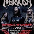 """Nervosa nueva Gira en Agosto Presentan su nuevo álbum """"Downfall of Mankind"""" Las brasileñas Nervosa se han hecho un hueco en el mundo del Thrash Metal a base de conciertos […]"""