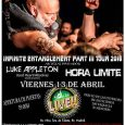 BLAZE BAYLEY + LUKE APPLETON LA SALA LIVE – MADRID 13-04-2018  Es difícil encontrar en el mundo del heavy metal a un artista más menospreciado que Blaze Bayley. El […]