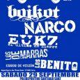 VIII FESTIVAL BREVA ROCK BOIKOT + NARCO + EL ÚLTIMO KE ZIERRE LOS DE MARRAS + LOS BENITO + ERROR DE VISIÓN Sábado 29 septiembre . 17:00 . Polideportivo Santiago […]