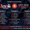 ¡TRES DÍAS PARA UNO DE LOS MEJORES FESTIVALES ALTERNATIVOS DEL VERANO! Este jueves 5 de julio, aterriza en El Bonillo (Albacete) la 11ª edición del Alterna Festival, con un cartel […]
