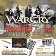 WarCry – La Riviera, Madrid Sábado 26 de Enero de 2019 Entradas ya a la venta ✔Entrada General ✔Entrada «Premium»: entrada General + pack exclusivo Madrid (llavero + pulsera + […]
