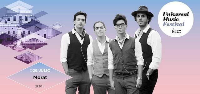 29 DE JULIO DE 2018 – 21:30 A 00:00 Teatro Real / Sala Principal COMPRAR ENTRADAS MORAT Morat es una joven banda que atesora magia, talento y cabeza. Formada por […]