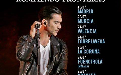 COMIENZA SU GIRA ESPAÑOLA DE OCHO CONCIERTOS ESTE MIÉRCOLES EN MADRID Alejandro Fernández regresa este mes a nuestro país, tras cuatro años sin girar por España, para presentar su tour […]