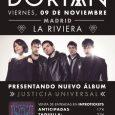 DORIAN PRESENTA JUSTICIA UNIVERSAL EN MADRID LA RIVIERA – 09/11/2018 Las entradas para la presentación en Madrid (9 de noviembre) del aclamado nuevo álbum de Dorian, Justicia Universal, mantienen un […]