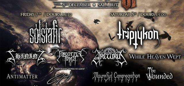 El festival madrileño de Metal extremo,Madrid is the Dark, celebrará su 6ª edicion los dias 7 y 8 de Diciembre en la Sala But. El evento se ha consolidado como […]