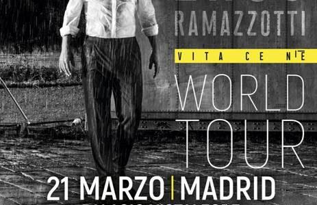EROS RAMAZZOTTI ACTUARÁ EN MADRID Y BARCELONA EL PRÓXIMO MES DE MARZO DENTRO DE SU GIRA MUNDIAL VITA CE N'È. El artista italiano más famoso del mundo vuelve a los […]