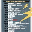60 conciertos en las Salas Copérnico, MON Live y Nazca en el mes de Noviembre Magnetik Producciones anuncian la programación de conciertos en estas tres salas que apuestan por la […]