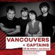 Captains de unen a Vancouvers para su conciertodel 18 de enero en Escenario Eslava. Vancouvers + Captains en Escenario Eslava 18 de enero de 2019 | 20:00h Joy Eslava anticipada: […]