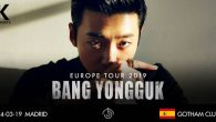 **Tickets will be available on 10.02.2019 at 12PM GMT / 1PM CET ** PLEASE READ CAREFULLY Bang Yong Guk will be touring Europe this March in 5 cities. An […]