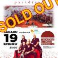 SÔBER, la sinfonía del Paradÿsso Sábado 19 de enero . 20:30 . Teatro Circo (Murcia) ENTRADAS ANTICIPADAS AGOTADAS Entradas de visibilidad reducida disponibles en taquilla a las 19:00 Ya hace […]