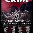 """Nuevas fechas para LA GIRA de presentación del nuevo disco deCRIM""""Pare Nostre Que Esteu a l'Infern"""" (2018). GIRA🌀http://bit.ly/CRIMpunkrock-2019 ENTRADAS🎟http://tickets.hfmncrew.com Anticipada 10€ + gastos / Taquilla: 13 € 11/01/2019 – A […]"""