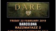 FM y Dare este mes de febrero en Madrid y Barcelona Los seguidores del hard rock melódico están de enhorabuena!!! FM officialsu útlima visita nos dejó muy buen sabor de […]
