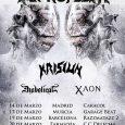 La banda dedeath metal melódico,Septicflesh, estará degirapor España en marzo. Serán cuatro las fechas en que podamos disfrutar de los griegos:14, 17, 19 y 20 de marzo, enMadrid,Murcia,BarcelonayZaragoza, respectivamente. Septicflesh, […]