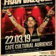 FRAN VÁZQUEZ celebrará sus 25 años de Rock el próximo viernes 22 de marzo en Ourense Con motivo de la celebración de sus 25 años como profesional de la música, […]