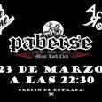 """El 23 de marzo tenemos a la banda ACTO REFLEJO, desde Figueras (Girona) para presentar su nuevo disco """"A Cara o Cruz"""" en la sala Paberse Club de Valencia. El […]"""