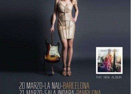 Por primera vez en gira de salas una de las guitarras más renovadoras del#bluesmusic @anapopovicmusic nos presentará su nuevo trabajo#likeitontop #20marzo#Barcelona@lanaubcn #21marzo#Pamplona@salaindara #22marzo#Vigo #23marzo#Aviles@FestivalRockinTown #24marzo#Madrid@shokolive_madrid Entradas en @notikumi @mutick @eventbrite […]
