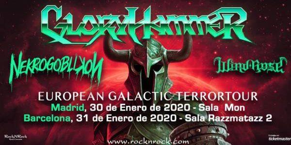 """GLORYHAMMER llega a nuestro país en Enero de 2020 con su gira """"EUROPEAN GALACTIC TERRORTOUR"""" GLORYHAMMER desplegará su power metal galáctico el jueves 30 de enero en la Sala Mon […]"""