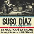 """Suso Díaz presenta """"Nomad Tribes"""" – 28 de Marzo en Café La Palma (Madrid). Tras""""Appaloosas""""el compositor andaluz estrena""""Nomad Tribes""""de la mano de TWH Records.Suso Díaznos muestra su particular carta de […]"""