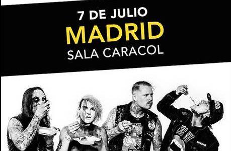 """COMBICHRIST + Terrolokaust CARACOL (Madrid) 07.07.2019 Domingo Fecha exclusiva en salas en la península con los temas que marcaron a una generación; """"Blut Royale"""", """"This S*it Will Fcuk You Up"""". […]"""