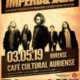 IMPERIAL JADE actúan por primera vez en Ourense para presentar su fantástico nuevo álbum «On The Rise» Imperial Jade se gestaron originalmente bajo el nombre de Blackway en Junio de […]