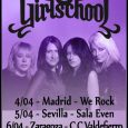 GIRLSCHOOL + MEAN MACHINE + PANICO RISING Madrid Sala We Rock 04/04/2019 Las Girlschool, una de las bandas pioneras de Heavy Metal compuesta exclusivamente por mujeres, volvía a visitarnos para […]