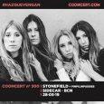 Pinpilinpussies serán las encargadas de abrir el concierto de Stonefield en Barcelona. Pinpilinpussies son el duo rock seleccionado para abrir el concierto de las australianas Stonefield, el próximo 28 de […]