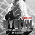 My Music Taste ha informado queel concierto de Hyolyn en Madrid se cancela, una pena para tod@s los fans que estábamos pendientes de ir, esperemos que en próximas fechas la […]