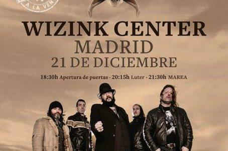 MAREA ACTUARÁ EL SÁBADO 21 DE DICIEMBRE EN EL WIZINK CENTER DE MADRIDDENTRO DE SU GIRA «EL AZOGUE» La mejor banda de rock en castellano MAREA, actuará en el Wizink […]