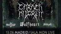 CARACH ANGREN + WOLFHEART + THY ANTICHRIST + NEVALRA Madrid Sala Mon 13/06/2019 Si no me falla la memoria tres veces habían pasado Carach Angren por Madrid anteriormente. La primera […]