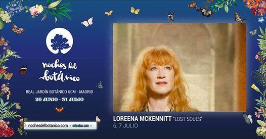 """LOREENA McKENNITT Madrid Jardín Botánico de Alfonso XIII 06/07/2019 En un tiempo en el que parece más importante el concepto de """"experiencia"""" y los puñeteros selfies colgados en las redes […]"""
