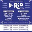 Cartel por días delRiofest 2019 27 y 28 de Septiembre en San Juan de Aznalfarache(Sevilla) Riofest 2019 contará con Café Quijano el 27 y con Luz Casal el 28 de […]
