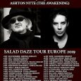 Wayne Hussey Salad Daze Tour (Europe – UK) 26 August 2019 Wayne Hussey launches European tour with Ashton Nyte (The Awakening) + new video Coming up: Schecter Guitars promo giveaway […]