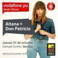 AITANA Y DON PATRICIO, PROTAGONISTAS DEL VODAFONE YU MUSIC SHOW 5G EN MTV MUSIC WEEK SEVILLA 2019 Ambos artistas se subirán al escenario del Cartuja Center de Sevilla el próximo […]