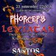El próximo 23 de noviembre nos visitan desde Alicante la banda Leviatan que estarán compartiendo escenario junto a Phorceps y Santos en el fantástico escenario de la sala Excalibur Sur. […]