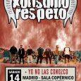 // KONSUMO RESPETO: ÚLTIMO CONCIERTO EN MADRID // Después de 20 años, 6 discos y multitud de conciertos por muchos países, los componentes de Konsumo Respeto han decidido poner fin […]